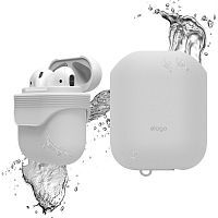 Как выглядит Чехол Elago Waterproof Case for Airpods White (EAPWF-BA-WH)
