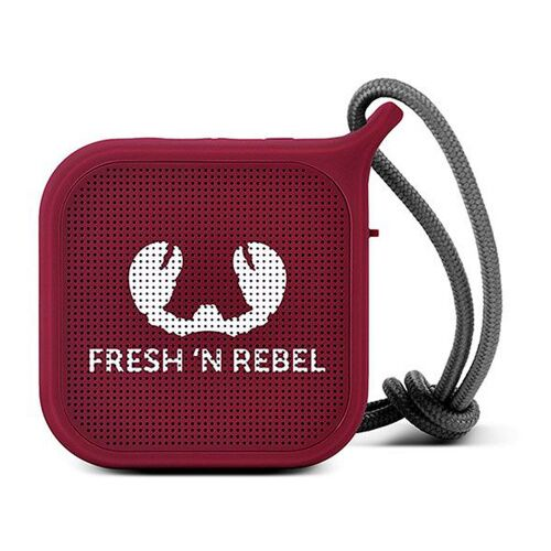 Как выглядит Акустика Fresh 'N Rebel Rockbox Pebble Small Bluetooth Speaker Ruby (1RB0500RU)