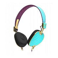 Наушники Skullcandy Knockout Robin/Smoked Purple/Gold Mic3 (S5AVGM-396)