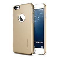 Как выглядит Чехол SGP Thin Fit A для iPhone 6S / 6 Champagne Gold (SGP10943)