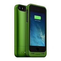 Как выглядит Чехол Mophie Juice Pack Helium 1500 mAh для iPhone SE / 5S / 5 Green (2541-JPH-IP5-GRN-I)
