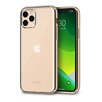Как выглядит Чехол Moshi Vitros Slim Clear Case for iPhone 11 Pro Max Champagne Gold (99MO103305)