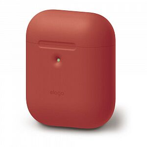 Чехол Elago A2 Silicone Case for AirPods with Wireless Charging Case Red (EAP2SC-RD)