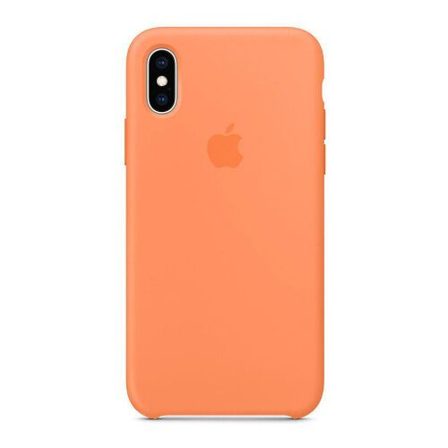 Как выглядит Чехол Apple Silicone Case для iPhone XS Max Papaya (MVF72)