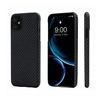 Чехол Pitaka MagCase for iPhone 11 Black/Grey (KI1101R)