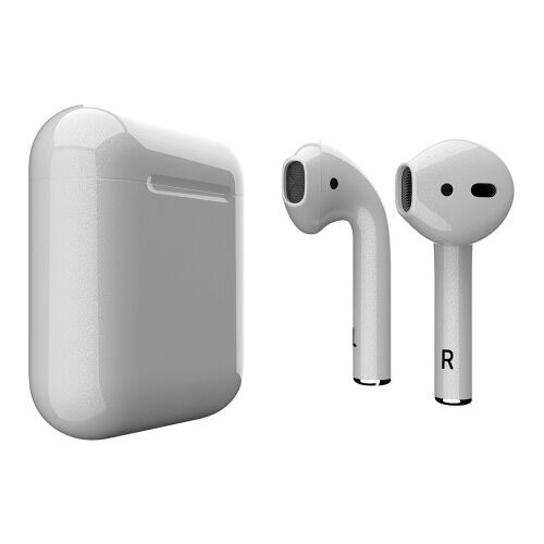 Как выглядит AirPods 2 Colors Light Gray Gloss (MV7N2)