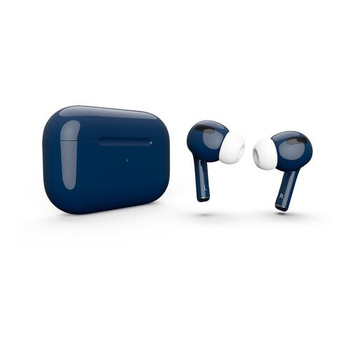 Как выглядит AirPods Pro Colors Night Blue Gloss (MWP22)
