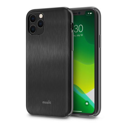 Как выглядит Чехол Moshi iGlaze Slim Hardshell Case for iPhone 11 Pro  Armour Black (99MO113003)