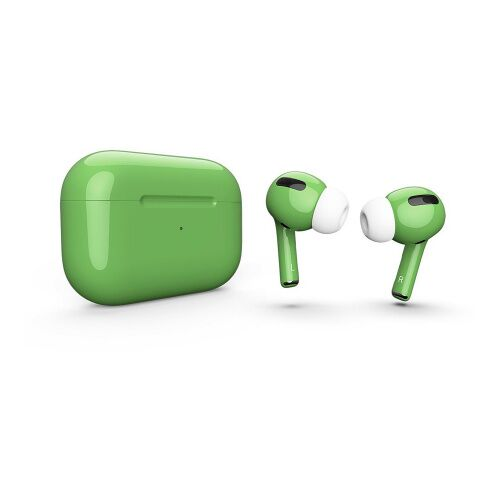 Как выглядит AirPods Pro Colors Green Gloss (MWP22)