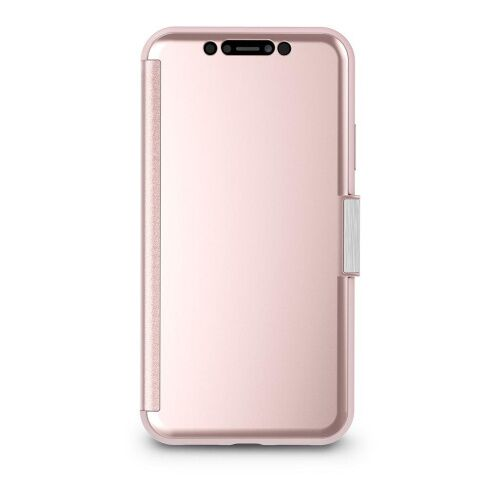 Как выглядит Чехол Moshi StealthCover Portfolio Case Champagne Pink for iPhone XR