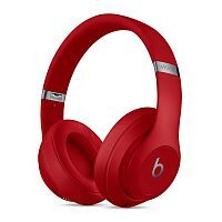 Наушники Beats Studio 3 Wireless Over-Ear Headphones - Red (MQD02)