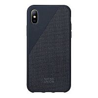Как выглядит Чехол Native Union Clic Canvas Navy for iPhone XS Max (CCAV-NAVY-NP18L)