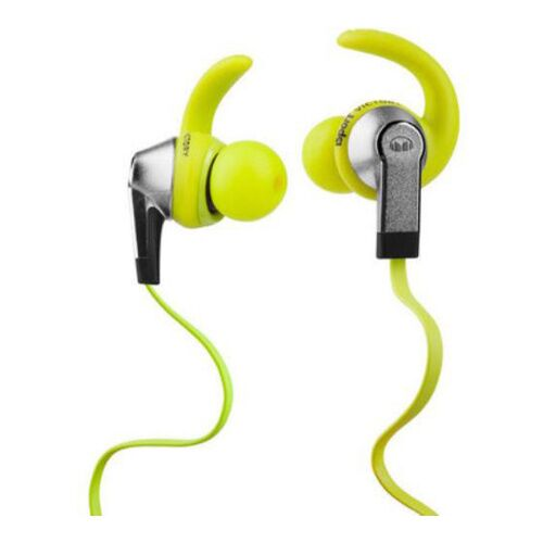Как выглядит Наушники Monster iSport Victory In Ear, Apple ControlTalk Green (MNS-128951-00)
