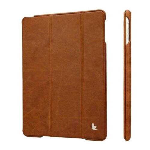Как выглядит Jison Case Vintage Leather Smart Case Brown for iPad Air (JS-ID5-01A20)