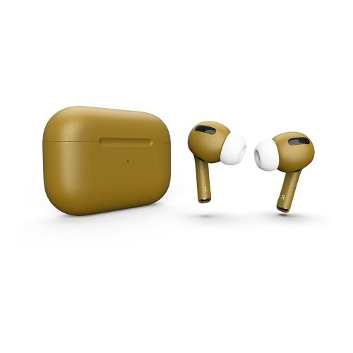 Как выглядит AirPods Pro Colors Mustard Matte Metal (MWP22)