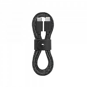 Кабель Native Union Belt Cable USB-C to Lightning Cosmos Black 1.2 m (BELT-KV-CL-CS-BK-2)
