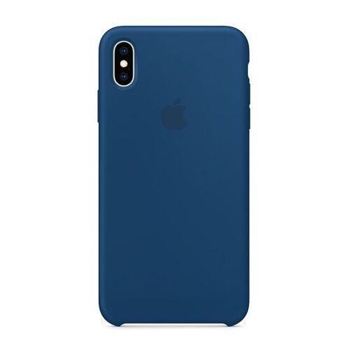 Как выглядит Чехол Apple Silicone Case для iPhone XS Max Blue Horizon (MTFE2)