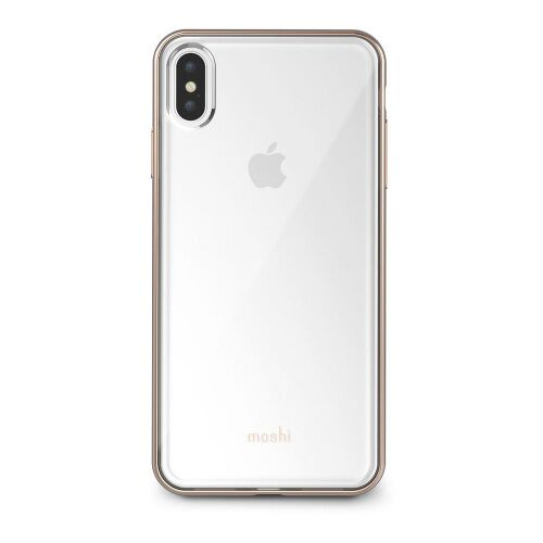 Как выглядит Чехол Moshi Vitros Slim Clear Case Champagne Gold for iPhone XS Max