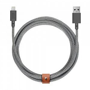 Кабель Native Union Belt Cable Lightning 3m Zebra (BELT-KV-L-ZEB-3)