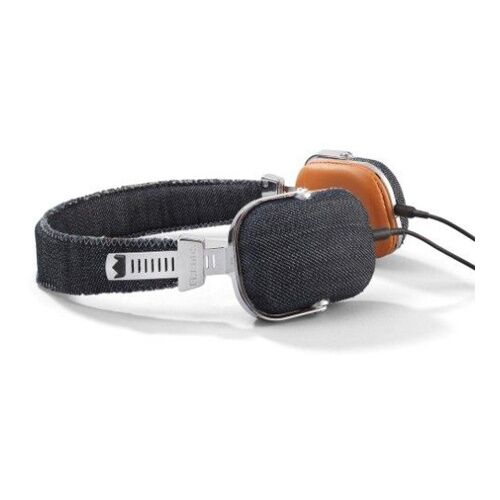 Как выглядит Наушники Frends Light Denim On-Ear Headphones Leather Black/Brown (010624)