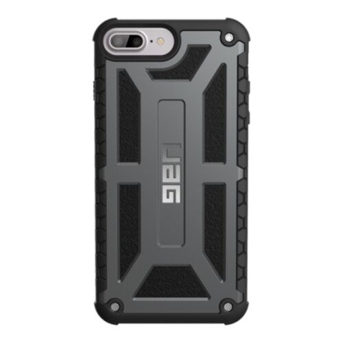 Как выглядит Чехол Urban Armor Gear Monarch для iPhone 6S Plus / 6 Plus Graphite Black (IPH7/6SPLS-M-GR)