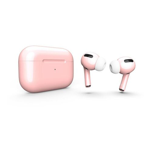 Как выглядит AirPods Pro Colors Pink Sand Gloss (MWP22)