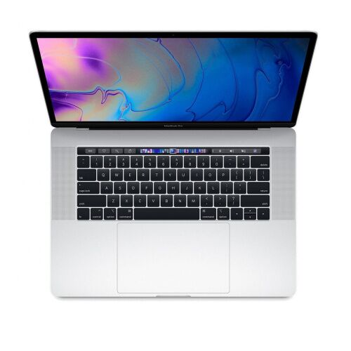"Как выглядит MacBook Pro 15"" TB Touch ID / 6-core i9 2.9GHz / 16GB / 1TB / Radeon Pro 555X 4Gb / Silver, custom 2018 (MR9642)"