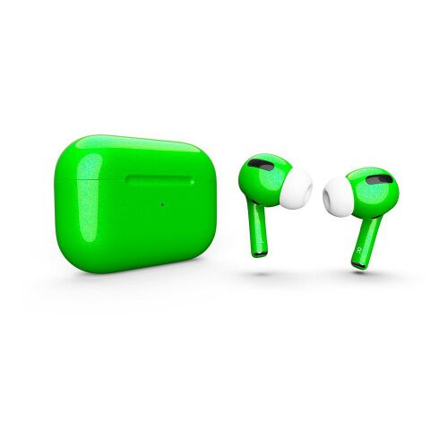 Как выглядит AirPods Pro Colors Lime Green Gloss (MWP22)