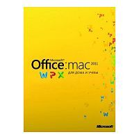 ПО Microsoft Office Mac Home Student 2011 Russian DVD (GZA-00310)