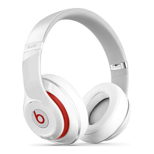 Как выглядит Наушники Beats by Dr. Dre Studio 2.0 Over Ear Headphones White (MH7E2)