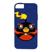 Как выглядит Чехол GEAR4 для iPhone SE / 5S / 5 Angry Birds Protective для iPhone SE / 5S / 5 Space Fire Bomb Bird (ICAS502G)