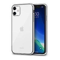 Чехол Moshi Vitros Slim Clear Case for iPhone 11  Jet Silver  (99MO103204)