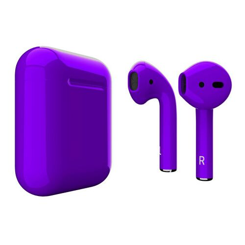 Как выглядит AirPods 2 Colors Ultra Violet Gloss (MV7N2)