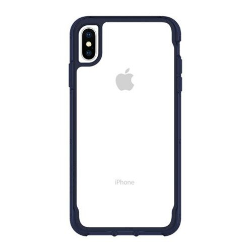Как выглядит Чехол Griffin Survivor Clear for iPhone XS MAX - Clear/Iris (GIP-012-CIR)