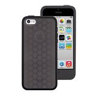 Moshi Silicone Case Origo Graphite Black for iPhone 5C (99MO050003)
