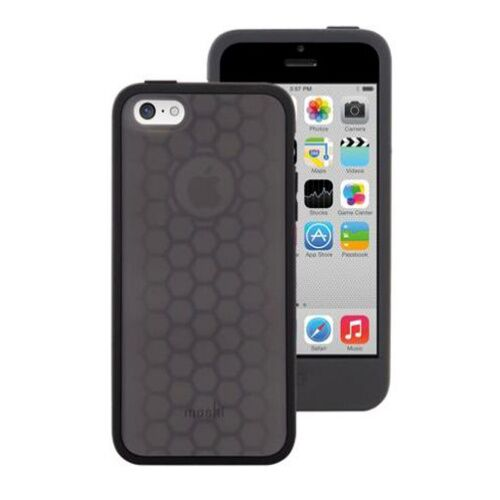 Как выглядит moshi silicone case origo graphite black for iphone 5c (99mo050003)