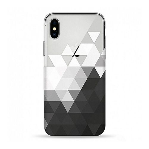 Как выглядит чехол pump transperency case for iphone x triangle (pmtrx-8/85)