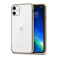 Чехол Moshi Vitros Slim Clear Case for iPhone 11 Champagne Gold  (99MO103304)