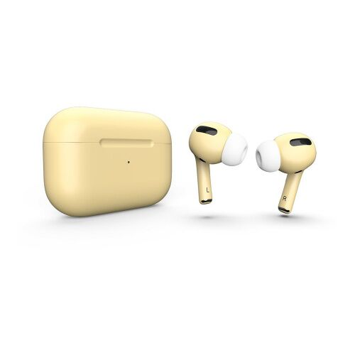 Как выглядит AirPods Pro Colors Light Yellow Matte (MWP22)