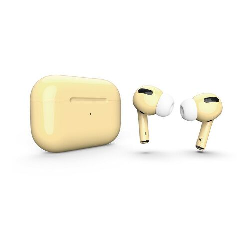 Как выглядит AirPods Pro Colors Light Yellow Gloss (MWP22)