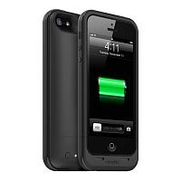 Как выглядит Чехол Mophie Juice Pack Plus 2100 mAh для iPhone SE / 5S / 5 Black (2395-JPP-IP5-BLK-I)