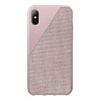 Как выглядит Чехол Native Union Clic Canvas Rose for iPhone XS/X (CCAV-ROSE-NP18S)