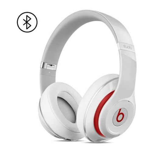 Как выглядит Наушники Beats Studio 2 Wireless Over-Ear Headphones White (MH8J2)