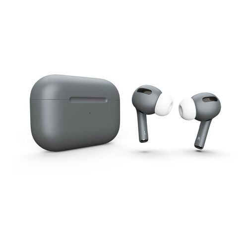 Как выглядит AirPods Pro Colors Gray Matte (MWP22)