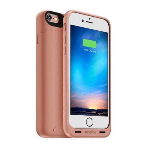 Как выглядит Чехол Mophie Juice Pack 1840 mAh для iPhone 6S / 6 Reserve Rose Gold (3419-JPR-IP6-RGLD)