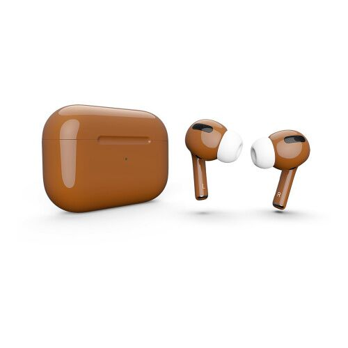 Как выглядит AirPods Pro Colors Caramel Gloss (MWP22)