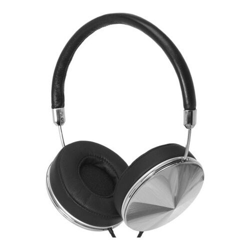 Как выглядит Наушники Frends Taylor Over-Ear Headphones Leather Black/Silver (010899)