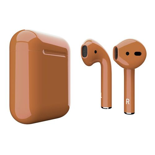 Как выглядит AirPods 2 Colors Caramel Gloss (MV7N2)