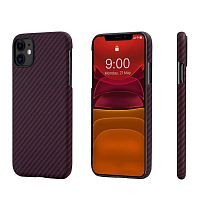 Чехол Pitaka MagCase for iPhone 11 Black/Red (KI1103R)