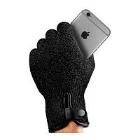 Как выглядит Перчатки для iPhone Mujjo Single Layered Touchscreen Gloves Black S (MUJJO-GLKN-011-S)